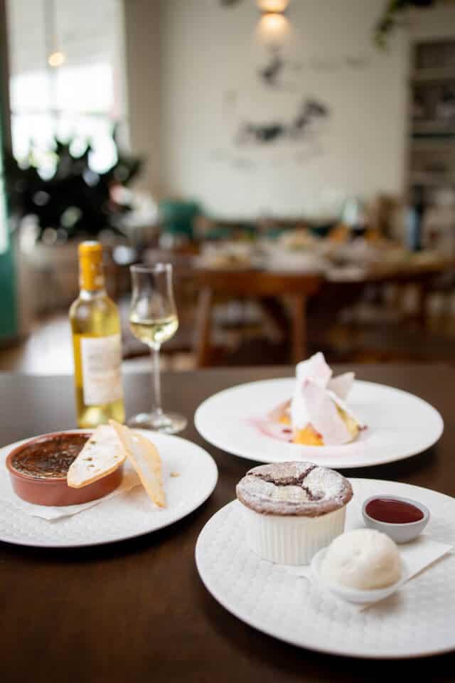 Haig Rd Bistro dessert